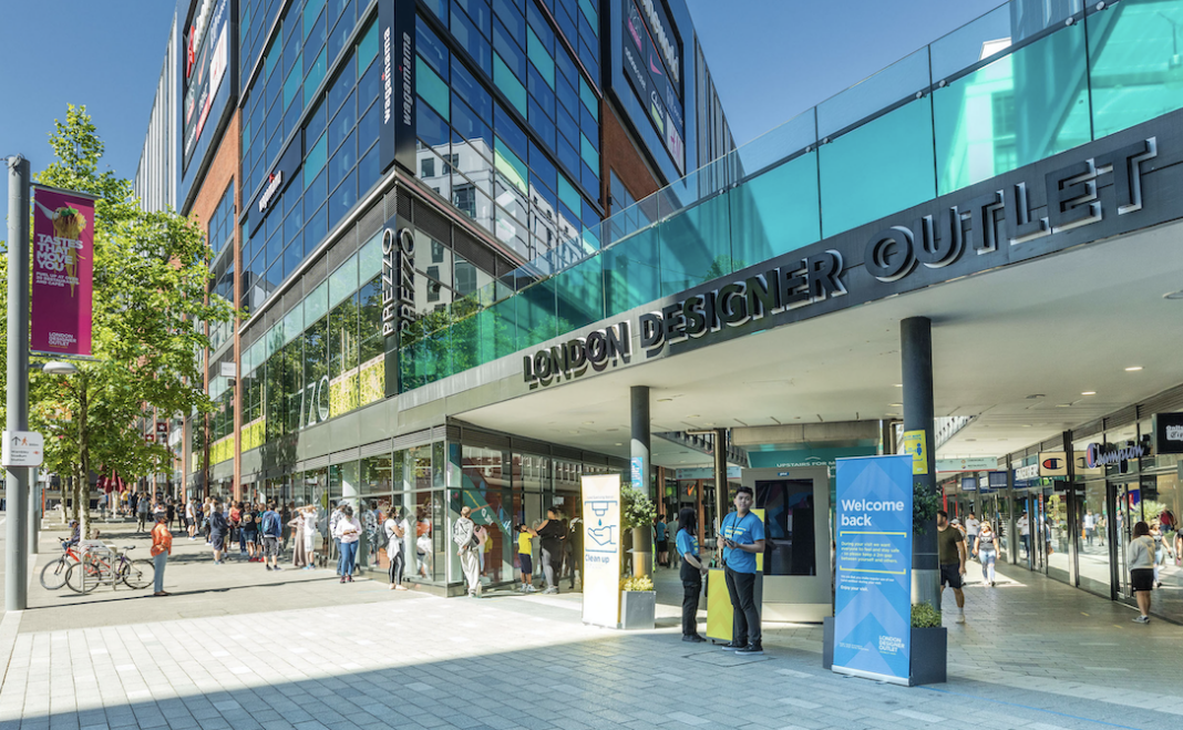 London Designer Outlet secures new signings and strong trading post-lockdown