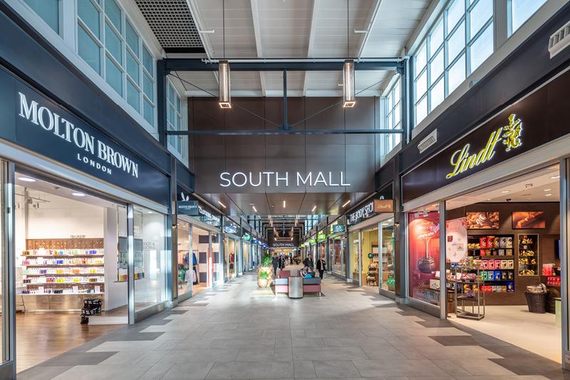 Livingston Designer Outlet south mall