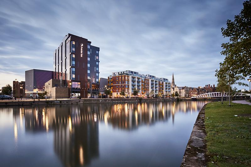 Riverside Bedford external inc waterfront
