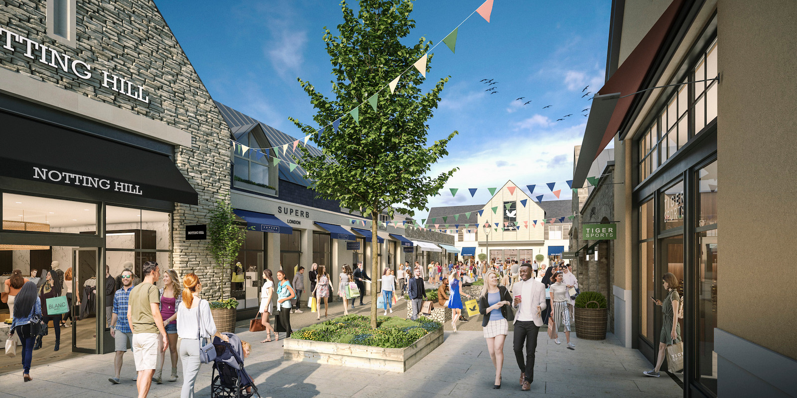 Realm appointed to head up the Leasing for Cotswolds Designer Outlet